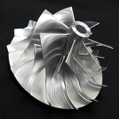 4HD Turbo Billet turbocharger Compressor impeller Wheel 86.30/121.80 (5250-