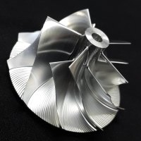 TD04HL Turbo Billet turbocharger Compressor impeller Wheel 41.93/55.69 (Performance Design, Flatback)