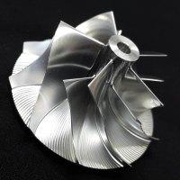 TD05H Turbo Billet turbocharger Compressor impeller Wheel 50.39/68.01 (49378-01520) Performance Design, High Blade Height, Reverse Rotation