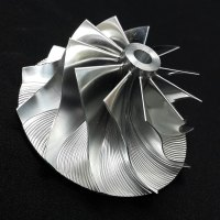 TD05H Turbo Billet turbocharger Compressor impeller Wheel 52.56/68.01 Performance Design, Reverse Rotation
