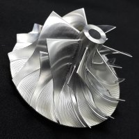 TD05H Turbo Billet turbocharger Compressor impeller Wheel 52.56/68.01/5.37 Performance Design, Forward Rotation