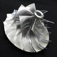 TD05H Turbo Billet turbocharger Compressor impeller Wheel 52.56/68.01/5.63 Performance Design, Forward Rotation