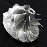 TD05H Turbo Billet turbocharger Compressor impeller Wheel 48.30/68.01 (Performance Design, High Blade Height, Forward Rotation)
