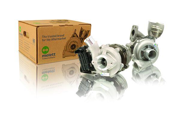 Genuine Melett 721164-* / 801891-0001-4 GTA1749V complete replacement Turbo