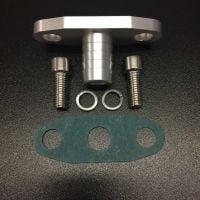 Turbocharger Oil Drain Return Flange GT40 GT50 GT55 ball bearing turbo