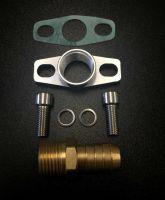 "Turbocharger Oil Drain Return Flange Gasket GT2860R GT2871R GT2876R Garrett Turbo 1/2"" 17mm"
