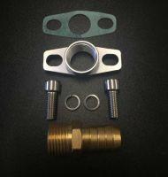 "Turbocharger Oil Drain Return Flange Gasket K03 K04 K06 VXR GSi GTi Turbo 1/2"" 17mm"