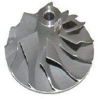 Kubota 1.1D TD025M Turbocharger NEW Replacement Turbo Compressor Wheel Impeller 49173-03410/ 20/ 30/ 40/ 50/ 60