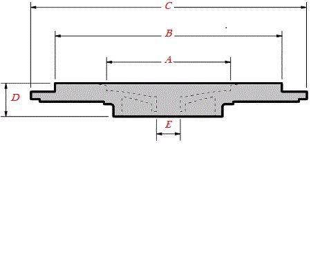 K03/K04/BV43/BV50 KKK Turbo Sealplate/Backplate 5304-151-5721, 1000-970-000