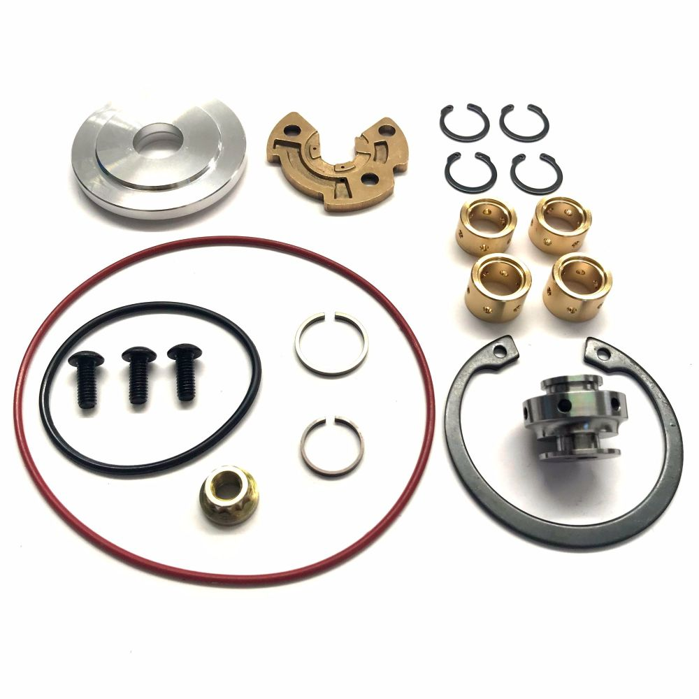 turbo repair rebuild service repair kit fits garrett t2 t25 t28 turbocharger bearings and seals. Black Bedroom Furniture Sets. Home Design Ideas