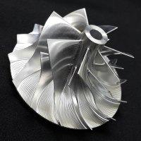 RHF5HB Turbo Billet turbocharger Compressor impeller Wheel 46.50/59.94 Performance Design (VF30/35/37/39/43/48/52)