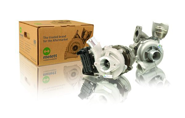 Original New UK Melett Turbo Turbocharger 5435-970-0000 Dacia Renault 1.5D