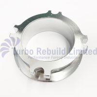 """Turbo Turbocharger Garrett 2.5"""" - 3"""" Steel V Band 4 Bolt Adapter Exhaust Flange"""