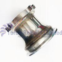 """T3 GT Turbocharger 4 Bolt 2.5 - 3"""" V Band External Wastegate Turbo Outlet Flange"""
