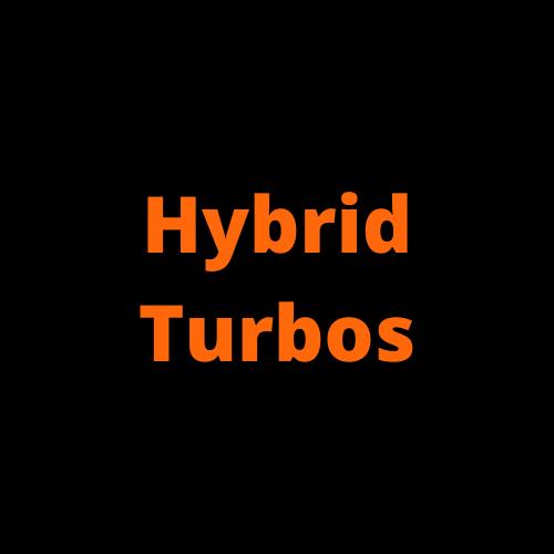 Uprated Turbochargers / Hybrid Turbos