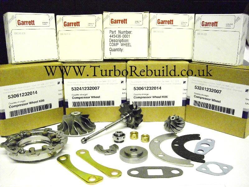Genuine and Aftermarket Turbo Parts and Spares