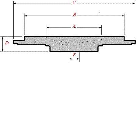 B2 Schwitzer Turbo Sealplate/Backplate 38.2mm