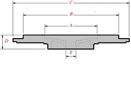 K03/K04/BV43/BV50 KKK Turbo Sealplate/Backplate 5304-151-5705