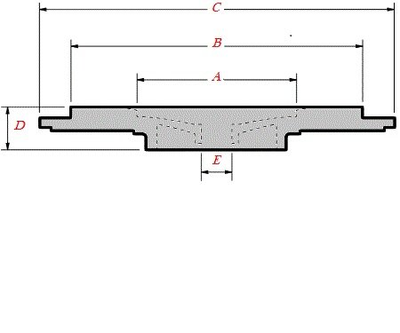 K03/K04/BV43/BV50 KKK Turbo Sealplate/Backplate 5304-151-5714