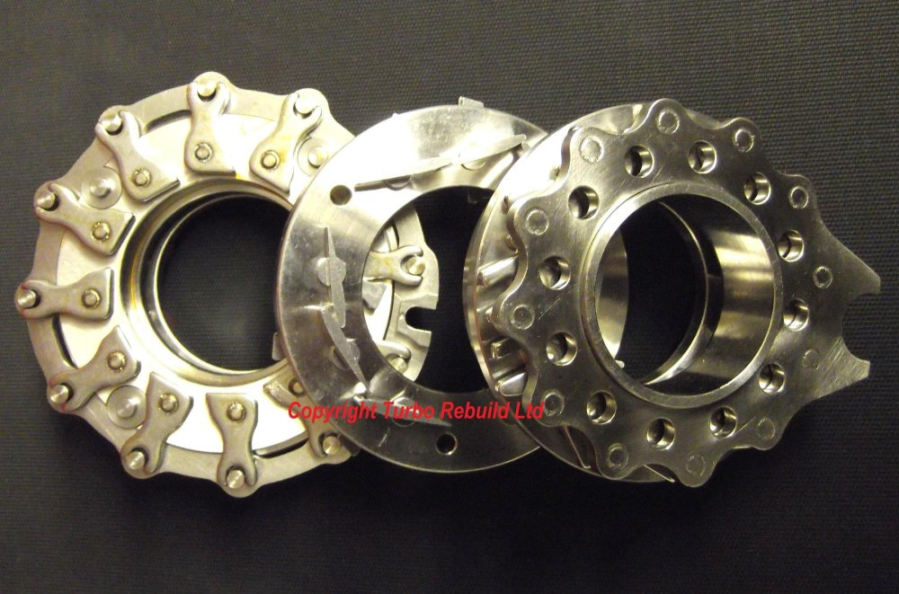 Turbo Nozzle ring VNT variable vain assembly for Garrett GT15-25 434596-000
