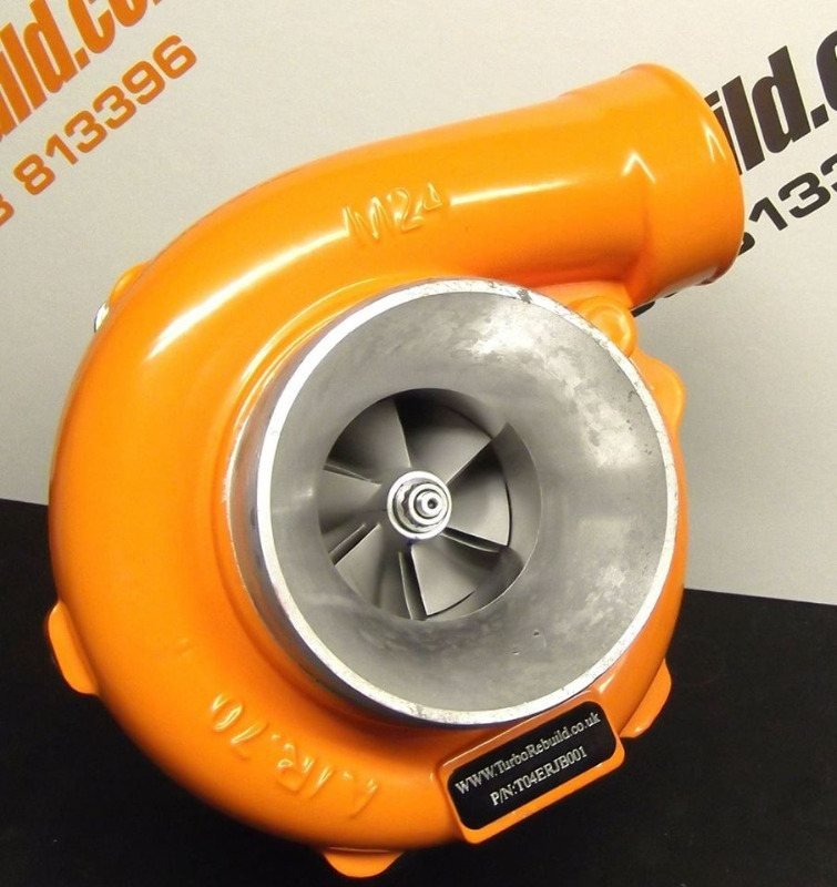 Turbo Powdercoated