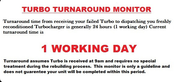 turbo turnaround time