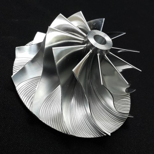 GT15-25 Turbo Billet turbocharger Compressor impeller Wheel 44.39/60.01