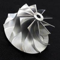 GT15-25 Turbo Billet turbocharger Compressor impeller Wheel 44.20/60.40