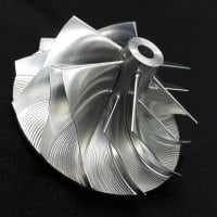 RHB5 Turbo Billet turbocharger Compressor impeller Wheel 38.50/52.50 (NN136610)