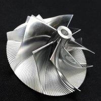 RHF3 Turbo Billet turbocharger Compressor impeller Wheel 25.00/36.95 (VQ38)