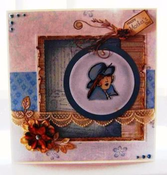 Vintage Themed Greetings Card