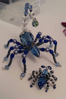 Beaded Spider Scorpion
