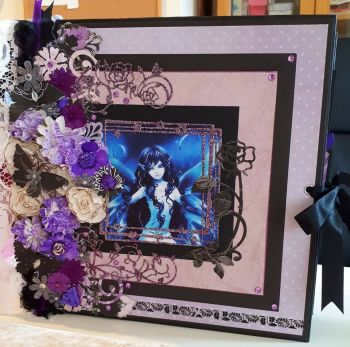 Dark Fairy Memory Book