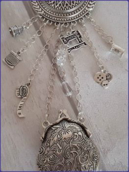 Chatelaine Vintage Victorian Inspired Sewing Steampunk Goth