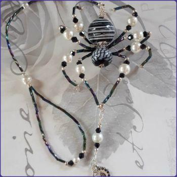 Beaded Spider Handmade Decoration Hanging Design