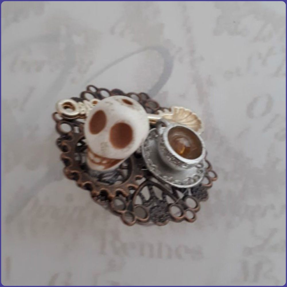 Handmade Unique Harry Potter Inspired Teapot Ring