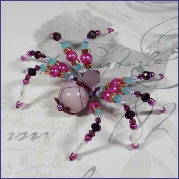 Glass Beads Beaded Spider Ornamental Home Decor Arachnid