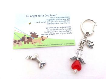 An angel for a Dog Lover