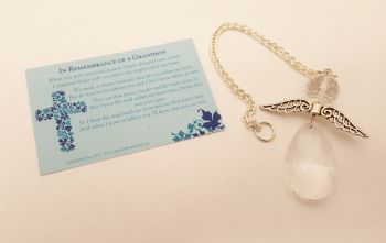Angels Tear Remembrance Gift - Grandson