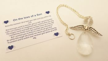 Angels Tear Remembrance Gift - Son