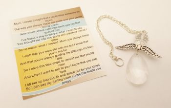 Angels Tear Remembrance Gift - Mom/Mum