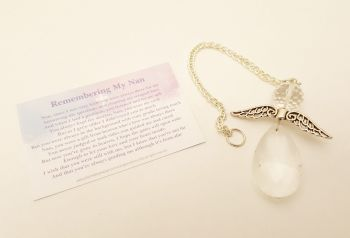 Angels Tear Remembrance Gift - Nan