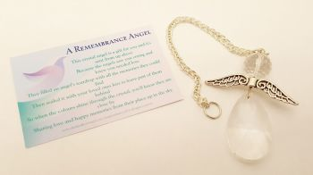 Angels Tear Remembrance Gift - Remembrance Angel
