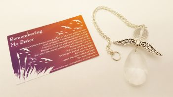 Angels Tear Remembrance Gift - Sister