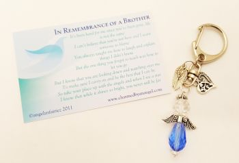 In loving memory of a Brother - Keyring