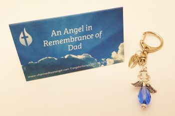 In loving memory of a dad - keyring