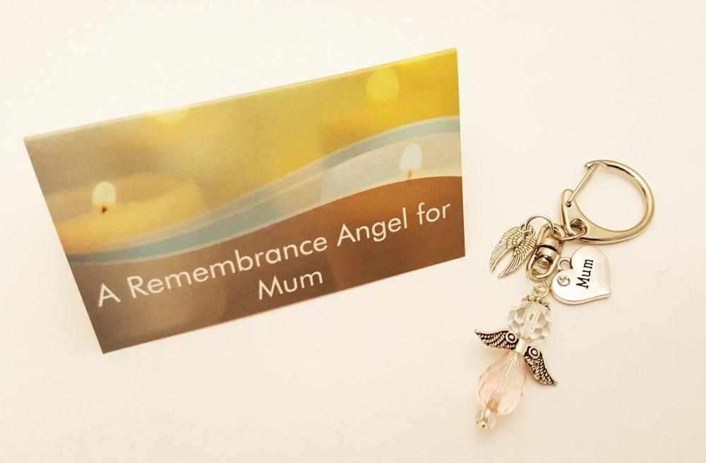 In Loving Memory of a Mum - keyring