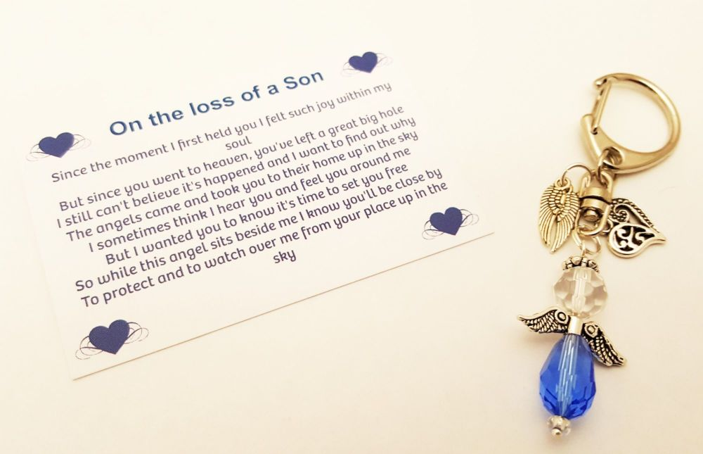 In Loving Memory of a Son - Keyring
