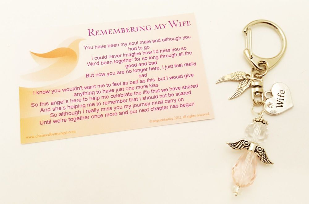 In Loving Memory of a Wife - Keyring