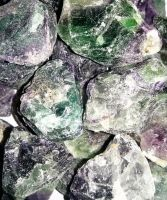 Fluorite Rough Stone - Focus
